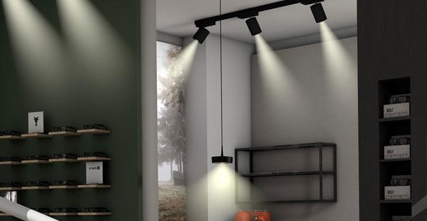 Beleuchtung Büro
